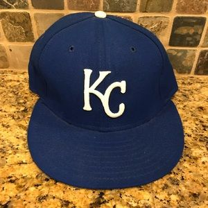 Kansas City Royals MLB New Era Fitted Baseball Hat